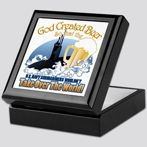 God Created Beer (Submariner) Keepsake Box