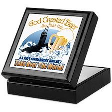 God Created Beer (Submariner) Keepsake Box