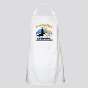 God Created Beer (Submariner) Apron