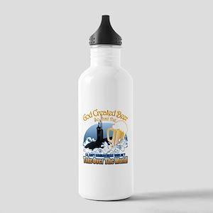 God Created Beer (Submariner) Stainless Water Bott