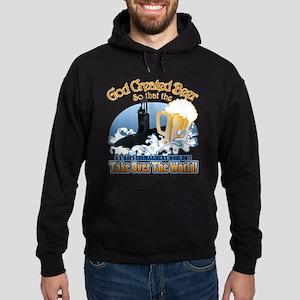 God Created Beer (Submariner) Hoodie (dark)