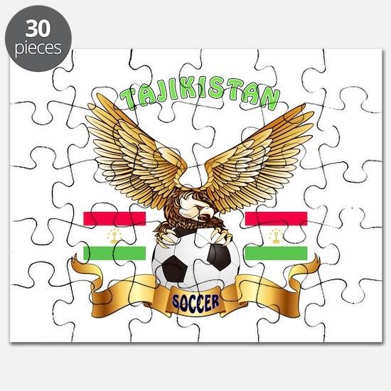 Tajikistan Football Design Puzzle