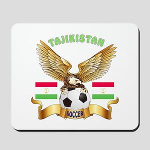 Tajikistan Football Design Mousepad
