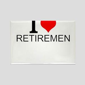 I Love Retirement Magnets