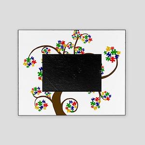 Autism Puzzle Picture Frames Cafepress