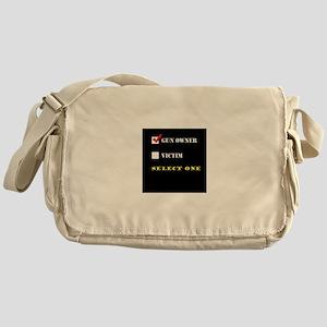 Gun Owner? Messenger Bag