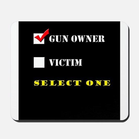 Gun Owner? Mousepad