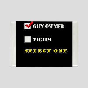 Gun Owner? Rectangle Magnet