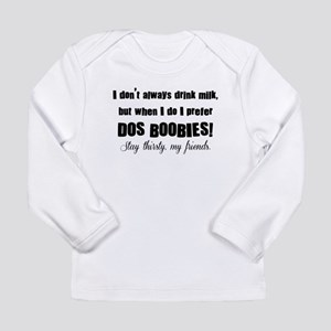 Dos Boobies Long Sleeve Infant T-Shirt