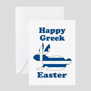 Greek easter greeting cards cafepress greekbu greeting cards m4hsunfo
