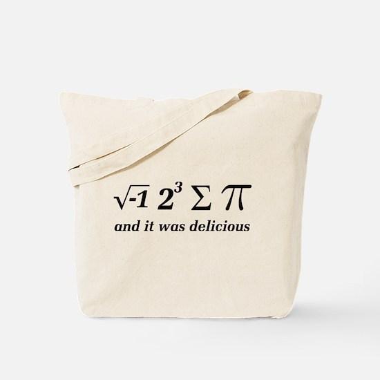 Funny Funny math joke Tote Bag