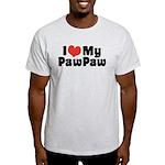 I Love My PawPaw Light T-Shirt