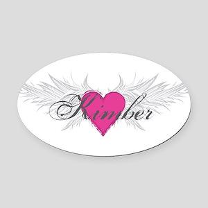 My Sweet Angel Kimber Oval Car Magnet