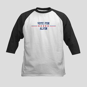 Vote for ALVIN Kids Baseball Jersey