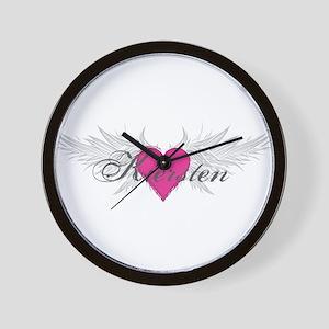My Sweet Angel Kiersten Wall Clock