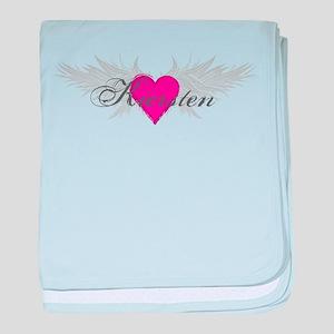 My Sweet Angel Kiersten baby blanket