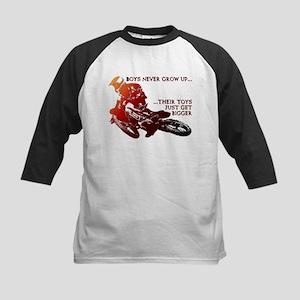 Bigger Toys Dirt Bike Motocross Funny T-Shirt Kids