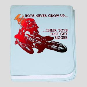 Bigger Toys Dirt Bike Motocross Funny T-Shirt baby