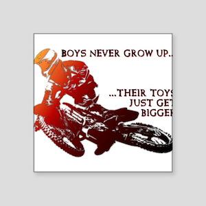 Bigger Toys Dirt Bike Motocross Funny T-Shirt Squa