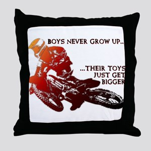 Bigger Toys Dirt Bike Motocross Funny T-Shirt Thro