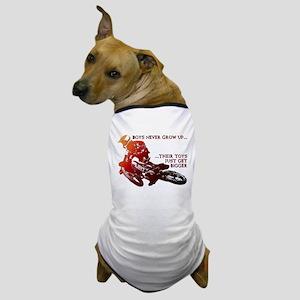 Bigger Toys Dirt Bike Motocross Funny T-Shirt Dog