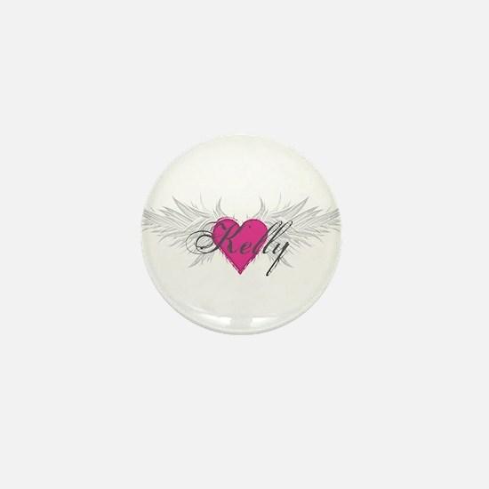 My Sweet Angel Kelly Mini Button
