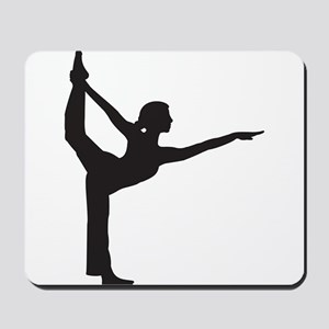 Bikram Yoga Bow Pose Mousepad