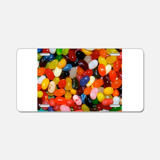 Jelly Beans! Aluminum License Plate