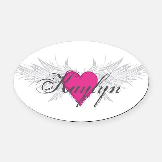 My Sweet Angel Kaylyn Oval Car Magnet