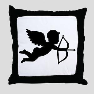 Angel cupid love Throw Pillow