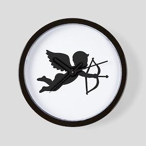 Angel cupid love Wall Clock