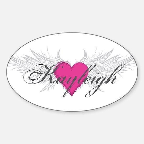 My Sweet Angel Kayleigh Sticker (Oval)