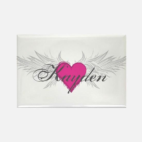 My Sweet Angel Kayden Rectangle Magnet