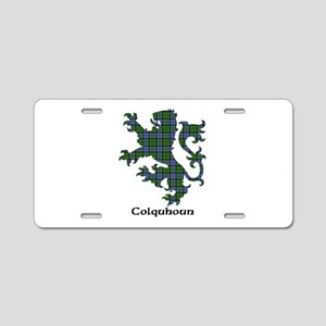 Lion - Colquhoun Aluminum License Plate