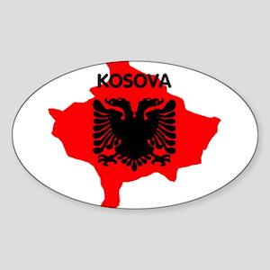 """Kosova 3"""" Lapel Sticker (48 pk) Sticker"""