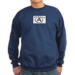 WAT R U GUD AT Sweatshirt (dark)