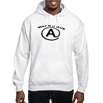 WAT R U GUD AT Hooded Sweatshirt