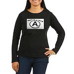 WAT R U GUD AT Women's Long Sleeve Dark T-Shirt