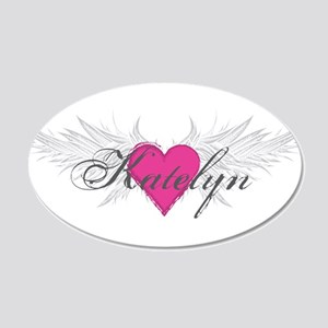 My Sweet Angel Katelyn 20x12 Oval Wall Decal