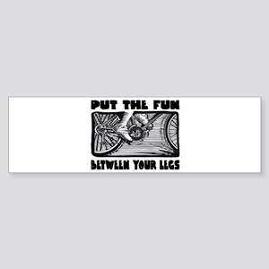 Put the Fun Bumper Sticker