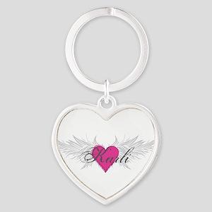 My Sweet Angel Karli Heart Keychain