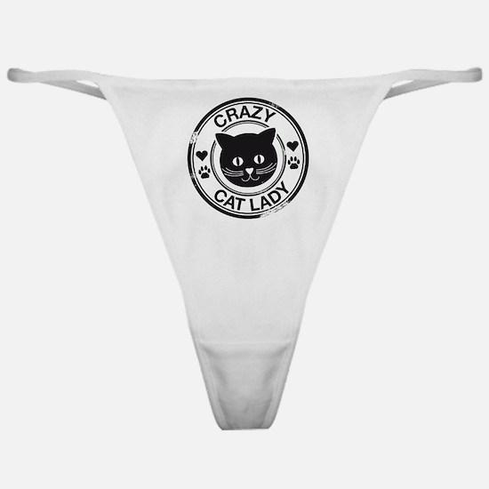 Crazy Cat Lady Classic Thong