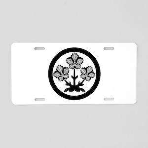 Suwa paper mulberry leaf Aluminum License Plate