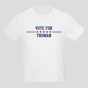 Vote for TRUMAN Kids T-Shirt