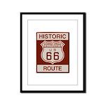 Newberry Springs Route 66 Framed Panel Print