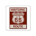 Newberry Springs Route 66 Square Sticker 3