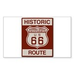 Newberry Springs Route 66 Sticker (Rectangle 50 pk