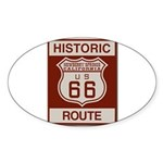 Newberry Springs Route 66 Sticker (Oval)