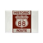 Newberry Springs Route 66 Rectangle Magnet (10 pac