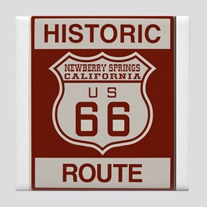 Newberry Springs Route 66 Tile Coaster
